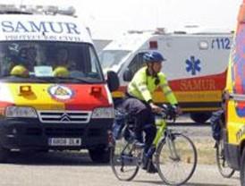 Fallece un hombre al salir despedido de su moto