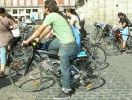 Los ciclistas ocuparán las plazas de parking como protesta