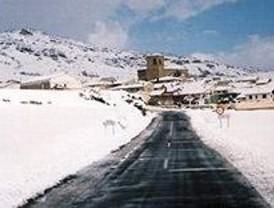 La cota de nieve baja a 800 metros, con precipitaciones en Collado Villalba