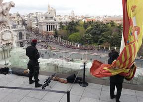 Los francotiradores también vigilaron el sepelio de Adolfo Suárez