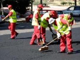 Los trabajos de asfaltado llegan a los distritos de Vicálvaro, Chamartín y Chamberí