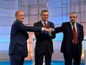 Irak, el 11-M y el BBVA centraron el debate entre Sebastián y Gallardón