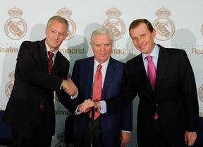 Rafael Pérez, Enrique Sánchez y Emilio Butragueño