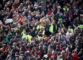 Podemos estima que más de 300.000 personas se han unido a la 'Marcha del Cambio'