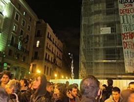 La primera 'marea verde' nocturna colapsa el centro de Madrid