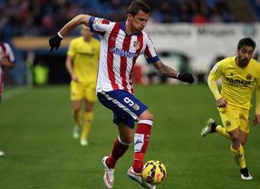 Sin incidentes en el Calderón, el Villarreal sorprende al Atlético