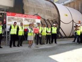 Arranca la tuneladora del tren a Navalcarnero