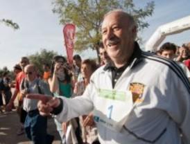 Vicente del Bosque apadrina la II carrera solidaria de la Fundación Síndrome de Down