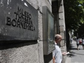 El Thyssen restaura 'El Paraíso' de Tintoretto