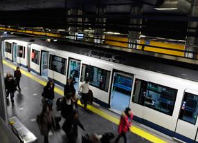 Metro anuncia un incremento de trenes a partir de este lunes