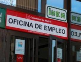 El paro sube en Madrid un 6,93 por ciento hasta los 369.256 desempleados