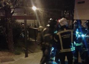 5 intoxicados leves en un incendio por un brasero en Moratalaz