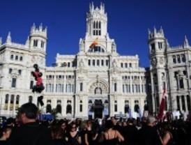 La 'marea negra' inunda el centro de Madrid
