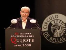 El Premio Cervantes Juan Gelman inició la lectura del Quijote