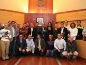 Homenaje a los trabajadores del Ayuntamiento de Las Rozas