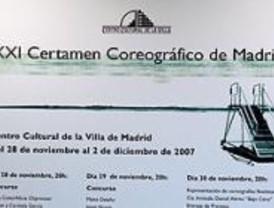 El Certamen Coreográfico de Madrid se traslada al Centro Cultural de la Villa