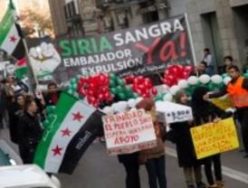 Nueva manifestación siria en la capital