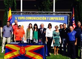 Fiesta atlética en el homenaje a Arteche de la Copa Comunicación