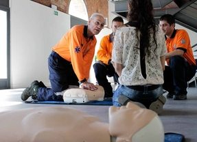 El Samur celebra el Día del Paro Cardíaco con talleres de reanimación en los distritos