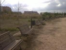 Parques como descampados en el PAU de Vallecas
