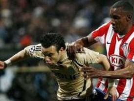 El Atlético pasa a octavos de Champions como segundo de grupo