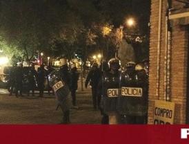 Los detenidos por los disturbios del Pilar, ante el juez