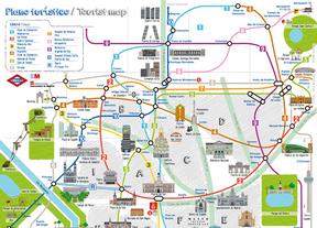 Un nuevo plano turístico de Metro