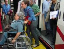 El CERMI anuncia movilizaciones si no mejora la accesibilidad en Metro