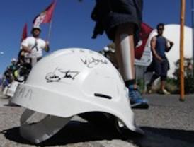 Collado Villalba recibe a las 2 primeras columnas de la 'marcha negra'