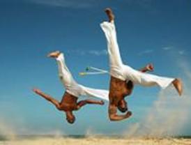 Talleres escolares de sentidos, juego creativo y capoeira en Ciempozuelos