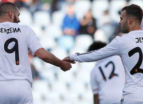 El Real Madrid saca pecho en Getafe