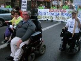La II Marcha por la Visibilidad de la Diversidad reclama más atención a los discapacitados