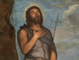 El San Juan Bautista de Tiziano, en el Prado
