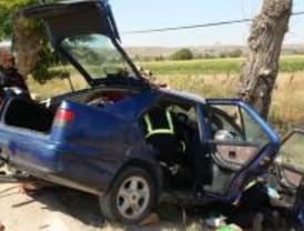 Dos muertos, entre ellos un bebé, al estrellar su coche cerca de Chinchón