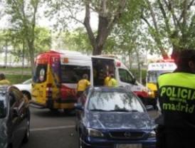 Un niño, muy grave tras ser atropellado por una furgoneta a la salida del colegio