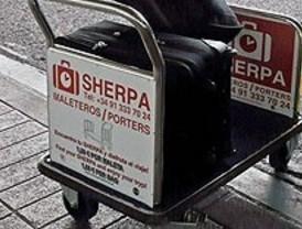 Barajas ofrece 'sherpas' a 1,60 euros