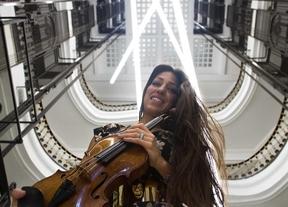 Concierto solidario de Leticia Moreno en el Auditorio Nacional