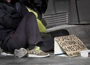 Más de 1,3 millones de madrileños, en riesgo de pobreza o exclusión