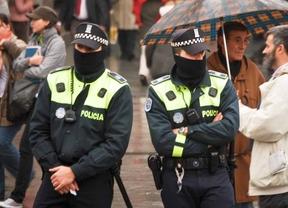 Una pareja de policías municipales de Madrid