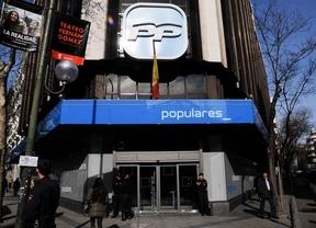 Sede del Partido Popular (PP) en la calle de Génova
