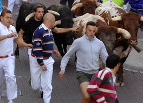 El penúltimo encierro de San Sebastián de los Reyes se salda con un herido por asta de toro