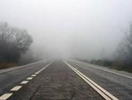 La niebla complicó la circulación en varias carreteras madrileñas