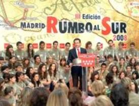Cien jóvenes madrileños parten este verano 'rumbo al Sur'