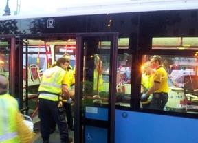 Rescatado por un conductor de autobús tras recibir un disparo