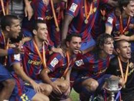 El Barça gana su primer título de la temporada