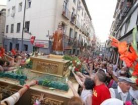 San lorenzo da paso a las fiestas de La Paloma