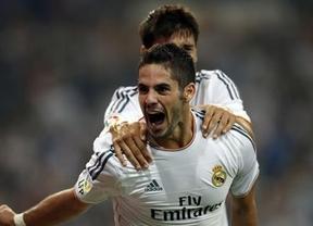 Isco hace sonreír al Bernabéu