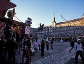 Mercado navideño en Carabanchel