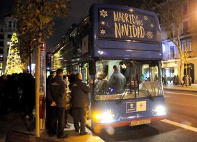 Regresa el bus de Navidad de la EMT