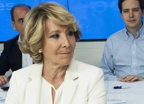 Esperanza Aguirre, presidenta del Partido Popular de Madrid